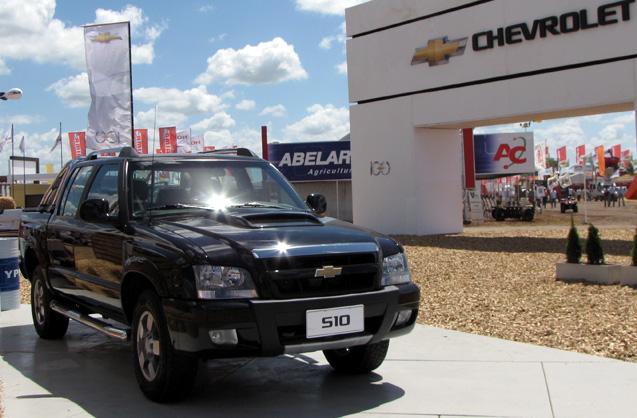 Chevrolet S10 en Expoagro 2011