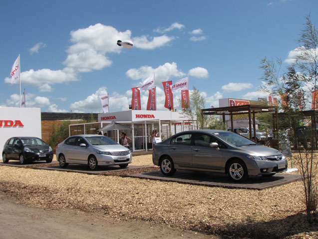Honda en Expoagro