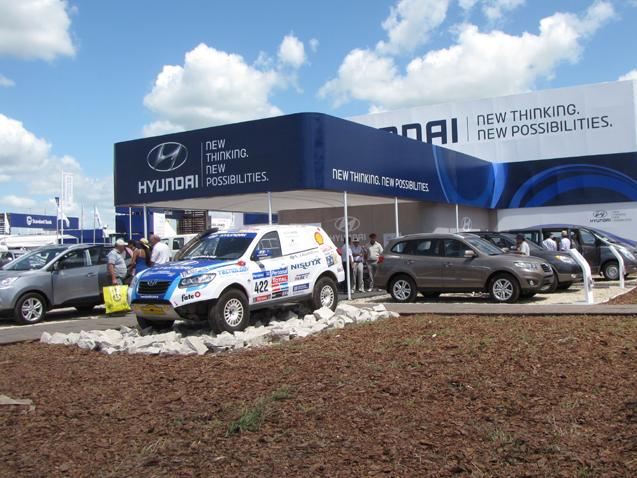Hyundai en Expoagro