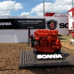 Motor del Scania P340 4x2 liviano