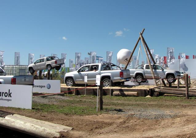 Volkswagen ratificó el éxito de su pick up Amarok en Expoagro 2011
