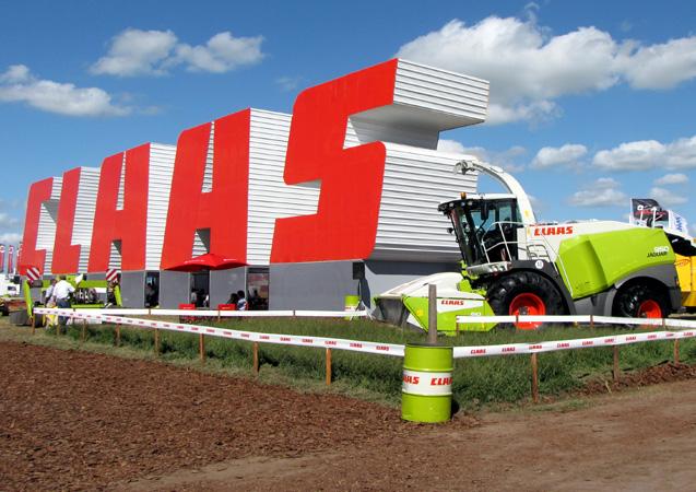 Claas en Expoagro 2011