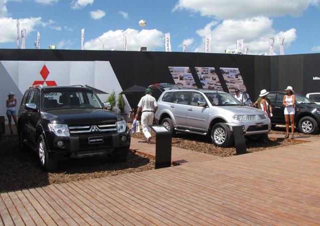 Stand de Mitsubishi en Expoagro 2011