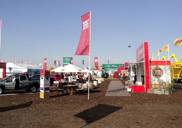 Stand de Fiat en AgroActiva