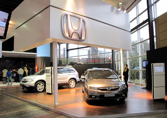 Stand de Honda Motor de Argentina en La Rural 2011