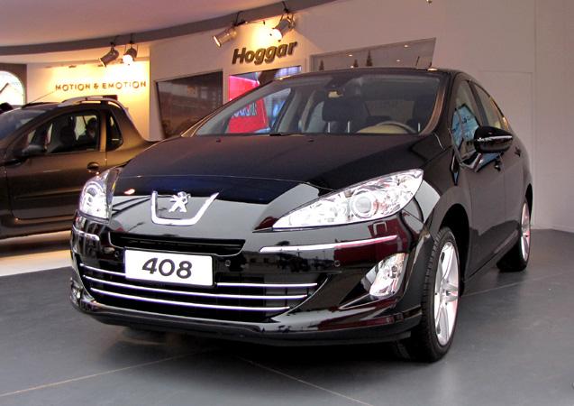 Peugeot 408 en La Rural