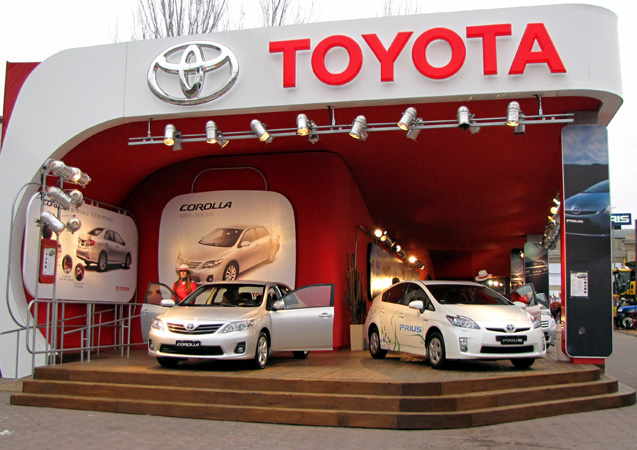 Stand de Toyota en La Rural