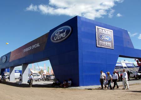 Expoagro Stands : Ford será nuevamente sponsor oficial de expoagro campo a pleno