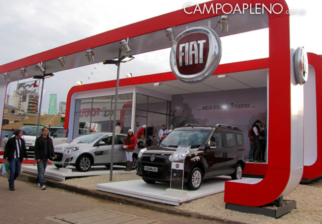 Campo a Pleno - Fiat - La Rural 2014 3