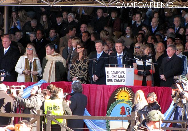 Campo a Pleno - La Rural 2014 - Inauguracion Oficial 1