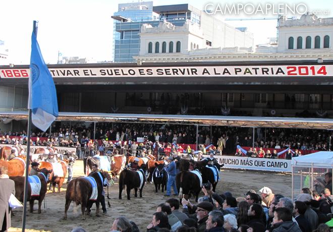 Campo a Pleno - La Rural 2014 - Inauguracion Oficial 2