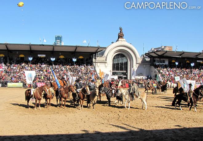 Campo a Pleno - La Rural 2014 - Inauguracion Oficial 6