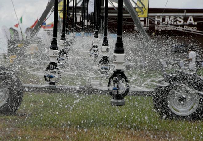 Expoagro - Dinamica de riego para despues de la lluvia