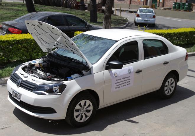 Los Balcanes - Primer taxi que utiliza como combustible bioetanol de caña de azucar 2