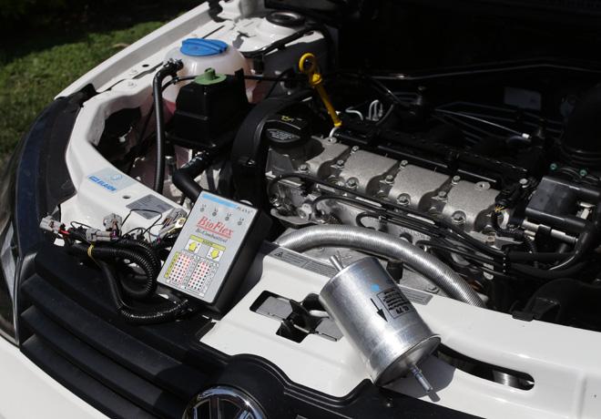 Los Balcanes - Primer taxi que utiliza como combustible bioetanol de caña de azucar 3