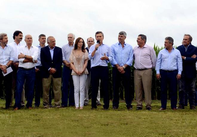 Mauricio Macri en Pergamino