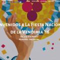 Fiesta nacional de la Vendimia 2016 logo