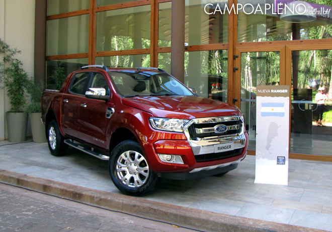 Ford - Presentacion Nueva Ranger en Puerto Iguazu 1