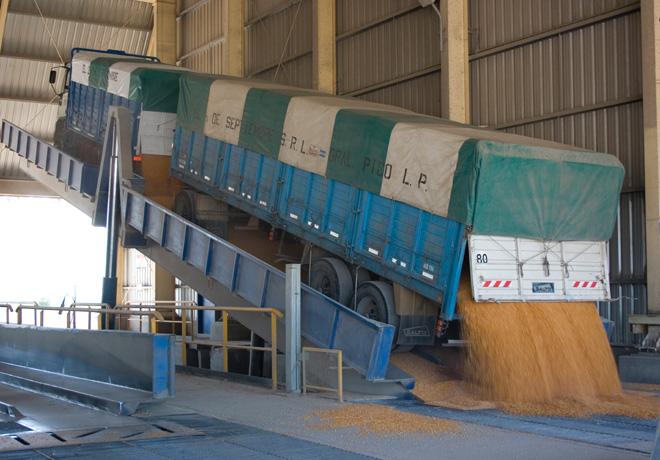 Exportaciones de cereales
