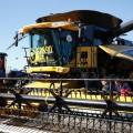 New Holland presento en Agroactiva la cosechadora record en soja