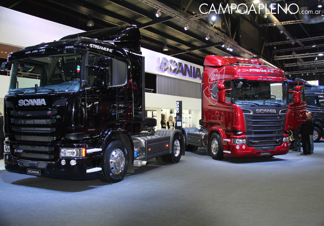 Salon AutoBA 2015 - Scania