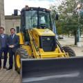 Ministerio de Agroindustria y Municipio de Las Flores - Convenio para mejorar los caminos rurales
