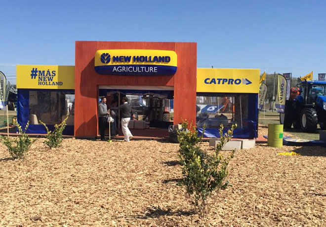 New Holland - Tractor Oficial - Expo Rio Cuarto 1