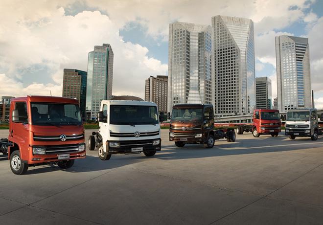 Volkswagen presenta su nueva plataforma mundial de camiones livianos.