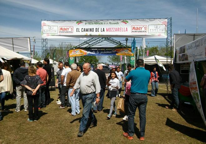 Se realizó la 8ª edición provincial de la mozzarella en San Vicente