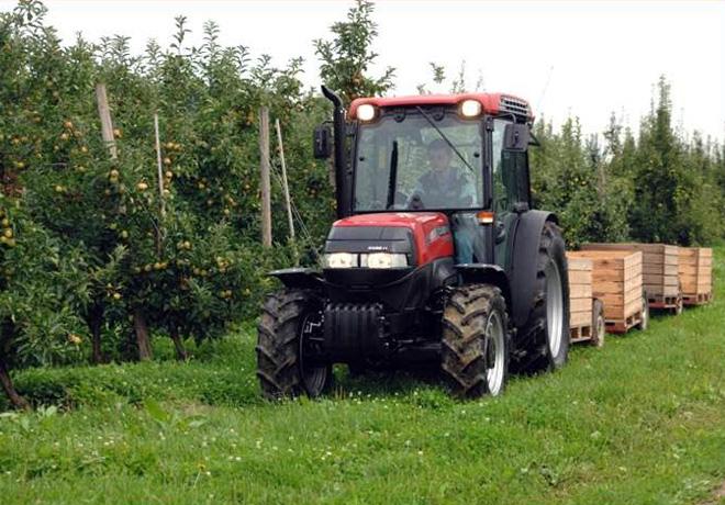 Case IH lanza los tractores Quantum, óptimos para viñedos y plantaciones frutales