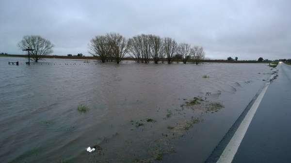 Inundaciones General Villegas