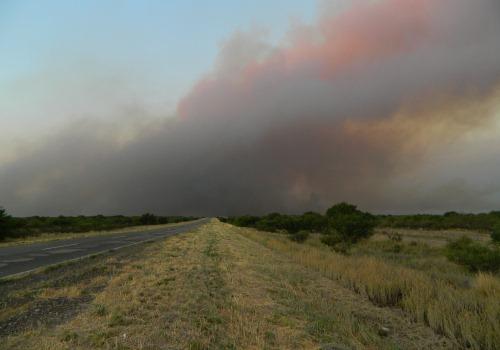La Pampa - Incendios