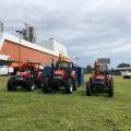 Los tractores Case IH se destacaron en Expo Maquina en Panama