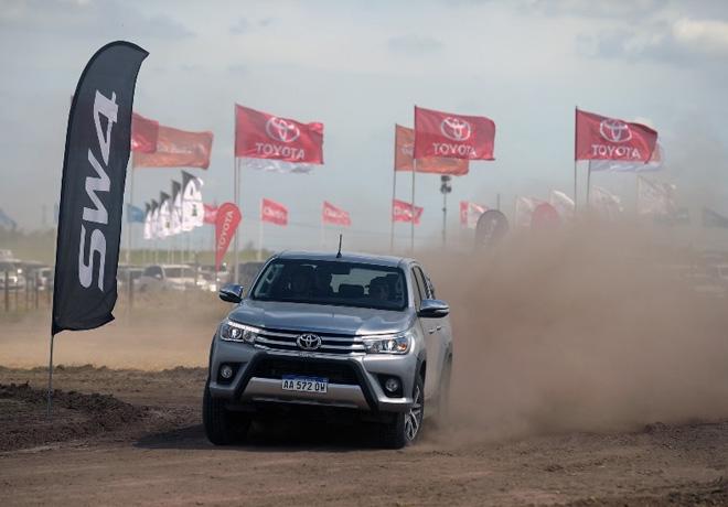 Toyota Canje de Granos en Expoagro 2018