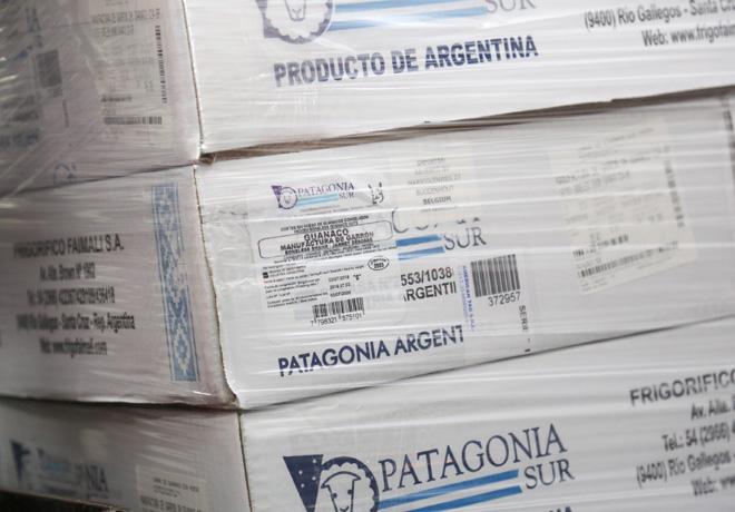 Exportacion de carne de guanaco