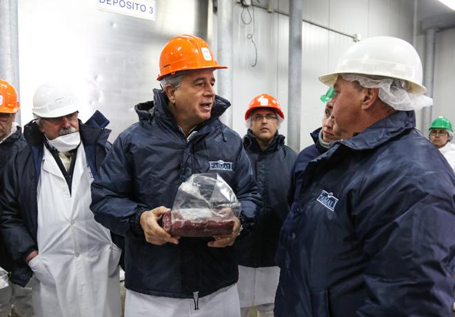 Luis Miguel Etchevehere - Exportacion de carne de guanaco