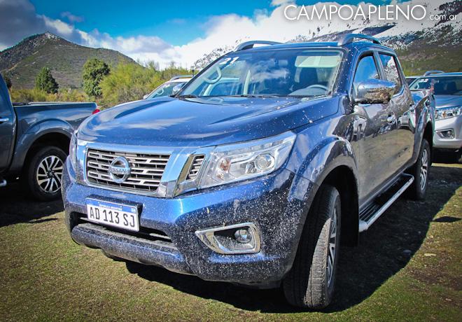 Nissan presentó la nueva pick up Frontier fabricada en Argentina.
