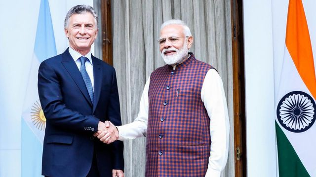 La Argentina y la India acordaron cooperar en materia de agroindustria.