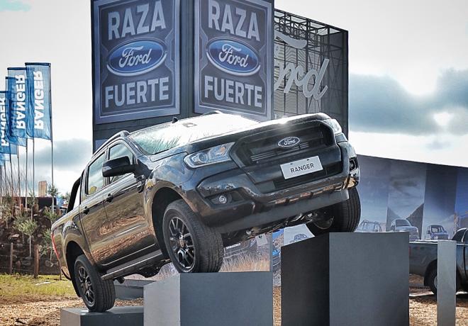Ford es la principal automotriz y el Vehículo Oficial de Expoagro 2019.