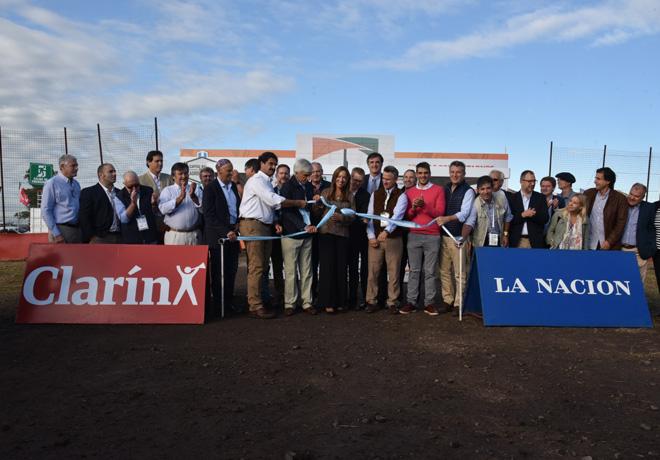 """Expoagro 2019: Se inauguró oficialmente la 13ª edición, bajo el lema """"Capital Nacional de los Agronegocios""""."""