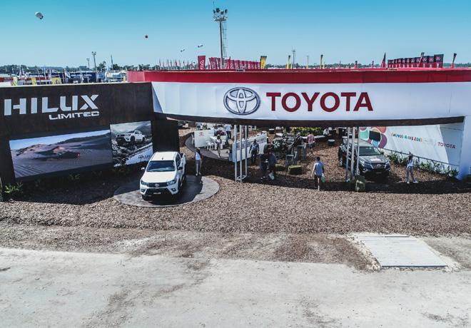Toyota exhibe su line-up en Expoagro 2019: Deportivos; híbridos y de trabajo.