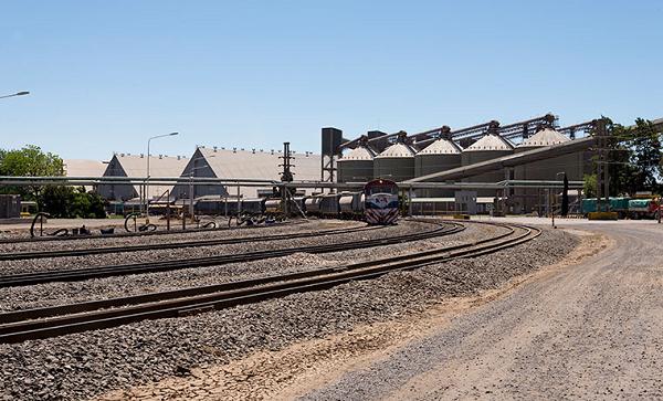 Instalaciones ferrocarril Gran Rosario
