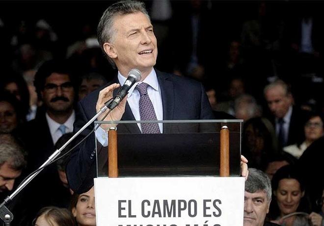 Mauricio Macri en La Rural 2019
