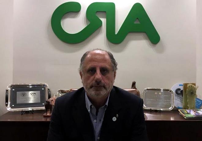 Jorge Chemes, presidente de CRA: «El campo, un motor que no para en las malas y sigue apoyando al país».