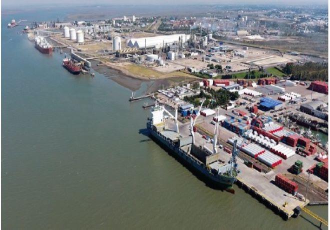 Las exportaciones de cereales, oleaginosos y subproductos por el puerto de Bahía Blanca alcanzaron las 9,6M Tn en 2020.