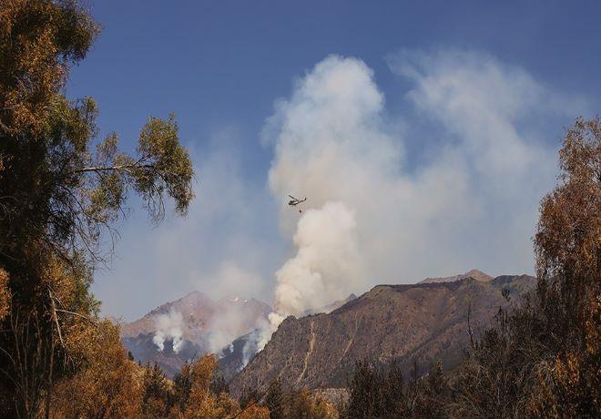 La Comisión de Emergencia analizó situación en cuatro provincias por incendios y eventos climáticos.
